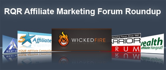 Affiliate Marketing Forum Roundup