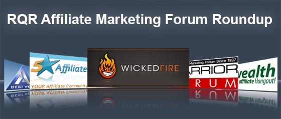 Affiliate Marketing Forum Roundup