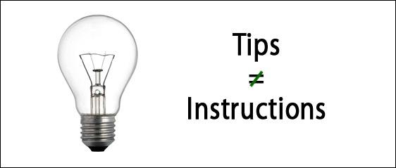 Lightbulb Tips Image
