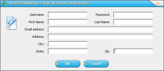 Article Submitter Data