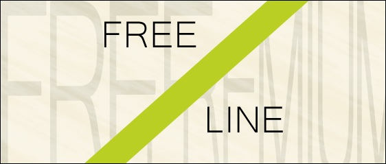 The Free Line