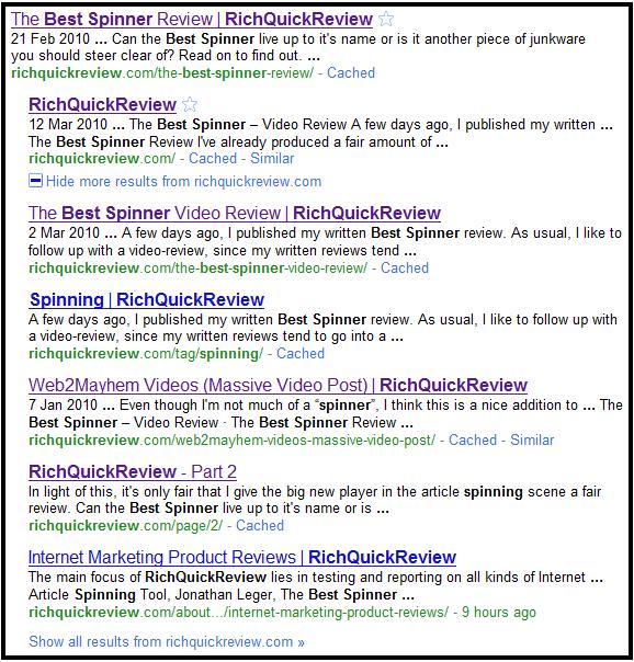 Google Results 2