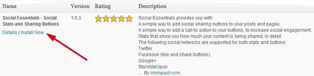 Search Result for Social Essentials in WordPress