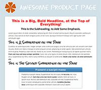 IB Sales Page Example