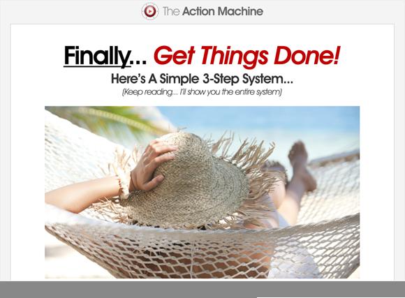Action Machine Homepage