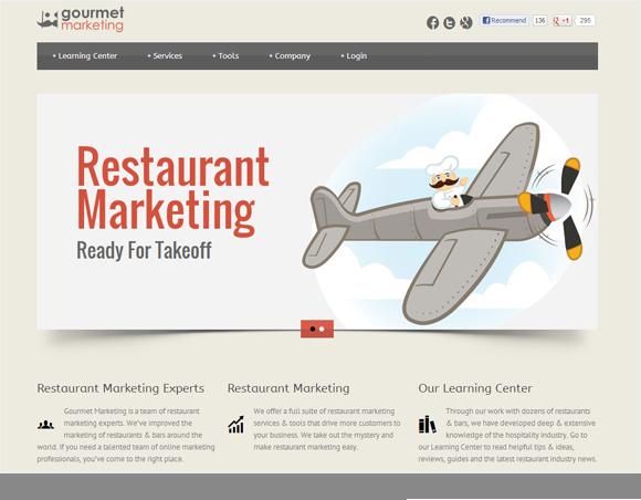 Gourmet Marketing Homepage