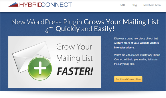 Hybrid Connect Homepage