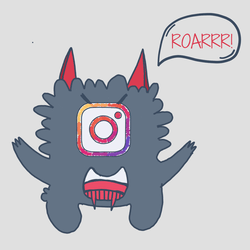 Monster Instagram